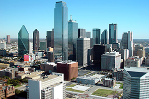 City of Dallas, TX.